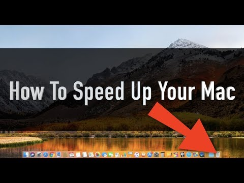 How To Speed Up Your Mac - EASY GUIDE / IMPROVE PERFORMANCE