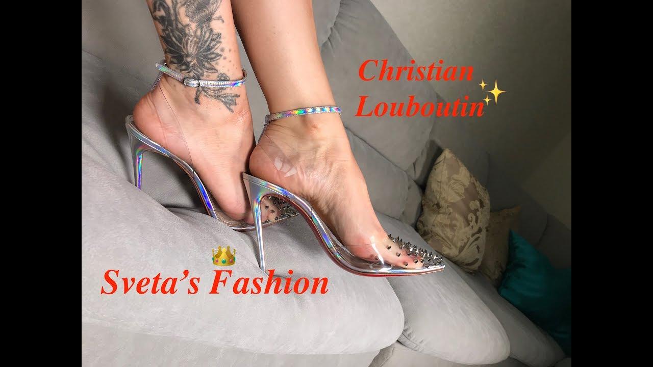Christian Louboutin Spikoo Heels