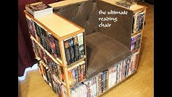 The bookshelf chair  library chair