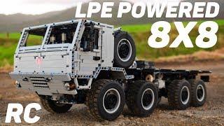 Lego Technic RC Pneumatic Tatra 815-7 8x8 - Massive Air Powered Truck - [MOC]