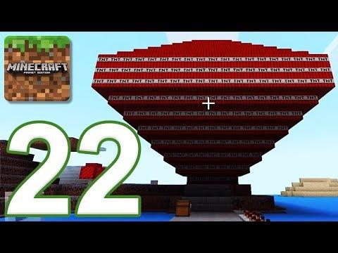 Minecraft: PE - Gameplay Walkthrough Part 22 - Cobblestone Island (iOS, Android)