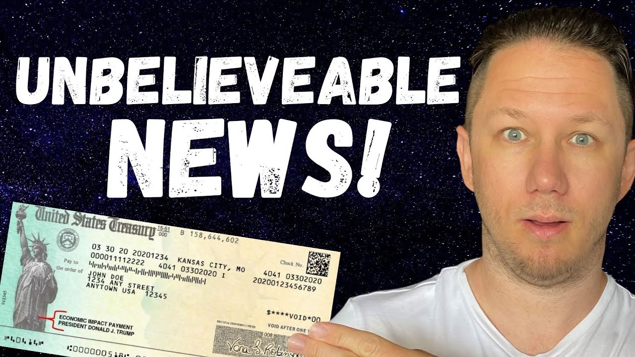 WOW!! IS THIS FOR REAL?!? Fourth Stimulus Check Update Today 2021 & Daily News