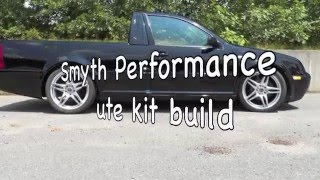Smyth Ute kit cutting the donor car