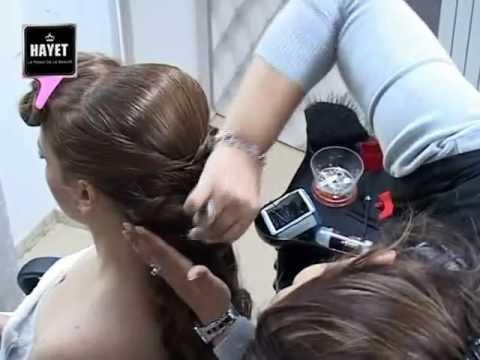 """le palais de la beauté """"hayet"""" démonstrations coiffure et maquillage 1"""