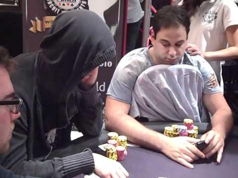 Insane all-in bluff by Viktor Blom aka Isildur1 on Day 3 of WSOPE 2010