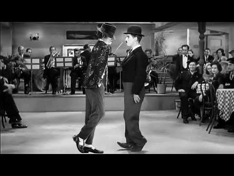 Charlie Chaplin Moonwalk