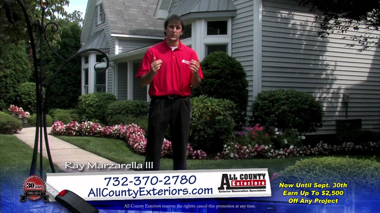 All County Exteriors Ray Marzarella III TV Commercial Best Value