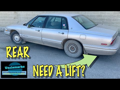 How to fix Buick air suspension rear 1996 butt lift (EP 104) GM