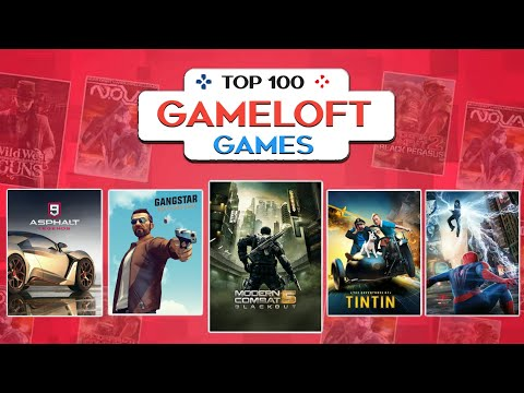 Top 100 GAMELOFT Games For Android 2020 | High Graphics (Online/offline)