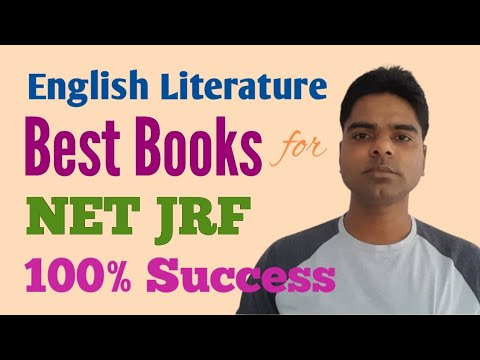 Best Books For Net English Literature | Ugc Net Jrf| Important Books