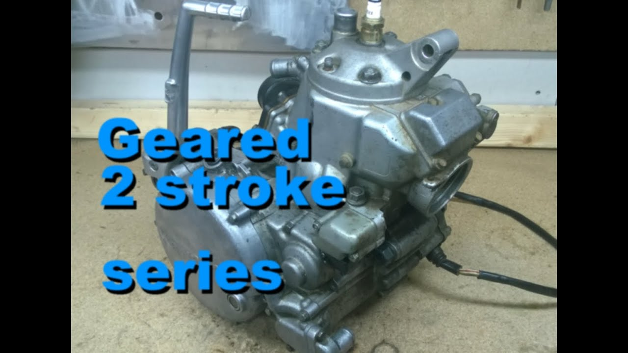 KX250 Geared 2 stroke Series - Part 2 Removing the Head - YouTube
