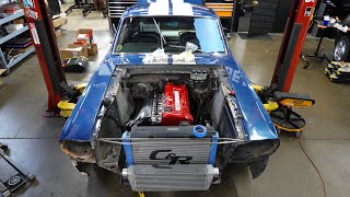 homepage tile video photo for Building The Tokyo Drift Mustang in REAL LIFE! *RB26 Swap*
