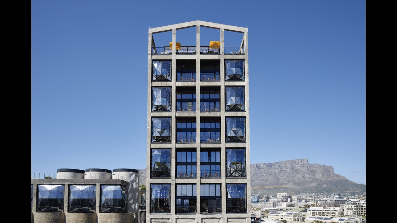 The Silo Hotel In Cape Town The Royal Portfolio Youtube