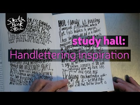 Study Hall: Handlettering Inspiration