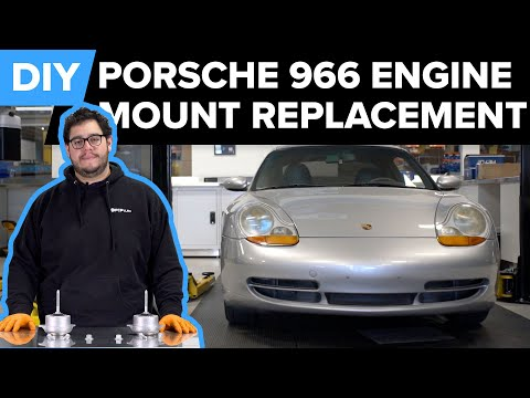 Porsche 996 911 Engine Mount Replacement DIY (Carrera, Boxster, & Cayman)