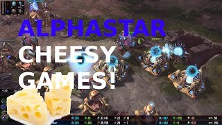 AlphaStar's VS CHEESE!