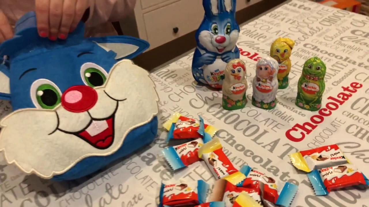 Apriamo La Borsetta Kinder Maxi Coniglio Mix E Il Kinder Sorpresa
