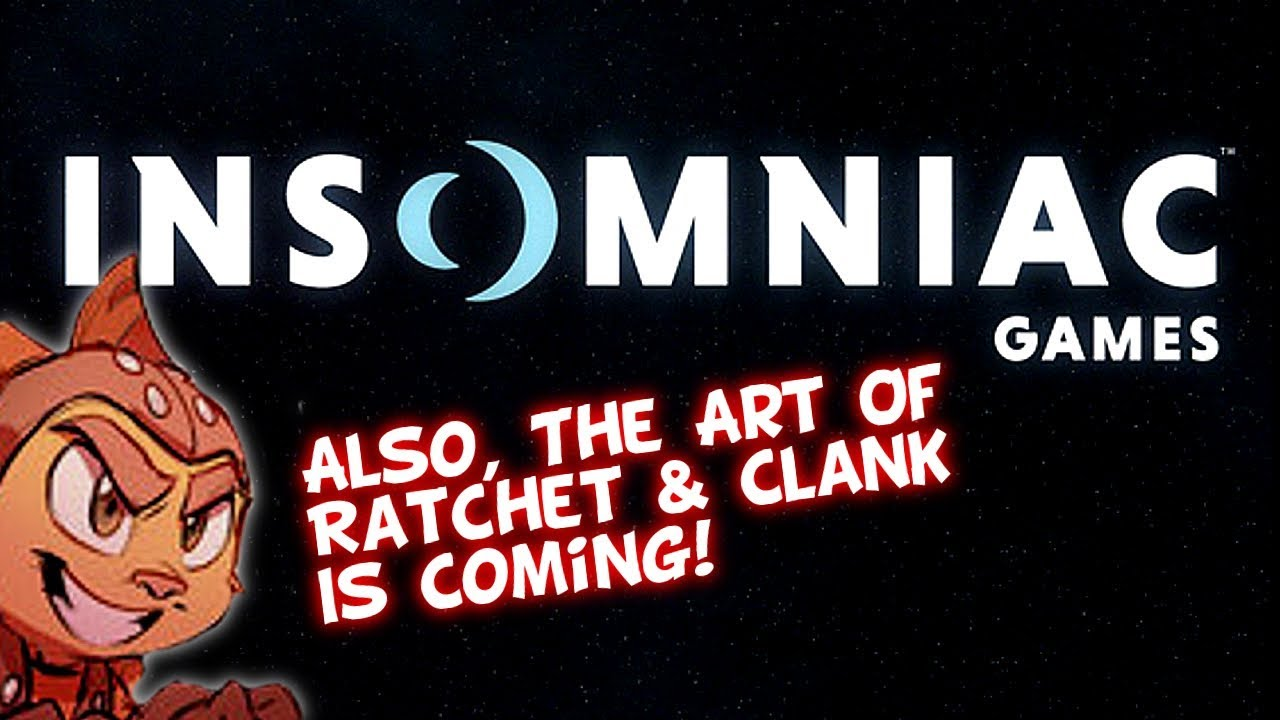 Insomniac Games New Logo The Art Of Ratchet Clank 15th Anniversary Special Youtube