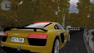 City Car Driving 1.5.4 Audi R8 V10 Plus TrackIR 4 Pro [1080p]