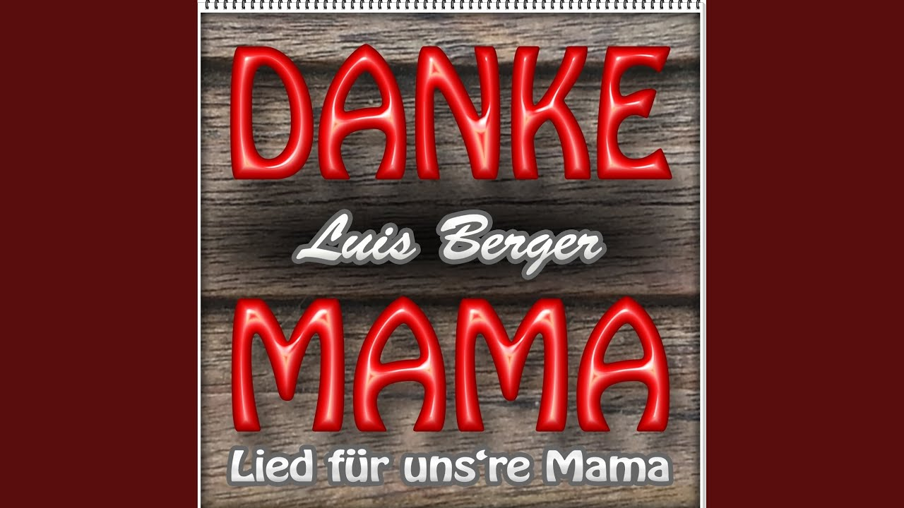 Danke Mama Lied Für Unsre Mama Youtube