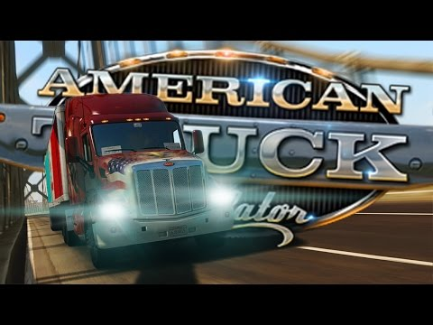 American Truck Simulator #1 (Demo) | LEARNING THE ROPES!