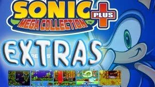 Sonic mega collection plus - Galeria de extras (especial 1000 subs)