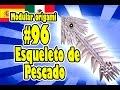 3D Origami modular #96 Esqueleto de Pescado