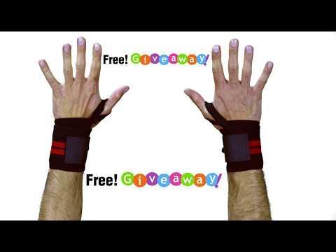 Best wrist wraps for bench press Giveaway! WinWristWraps.info