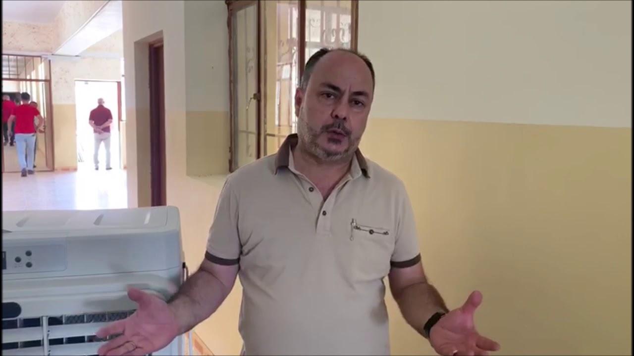 185 - Five AC Units for a school in Alqosh