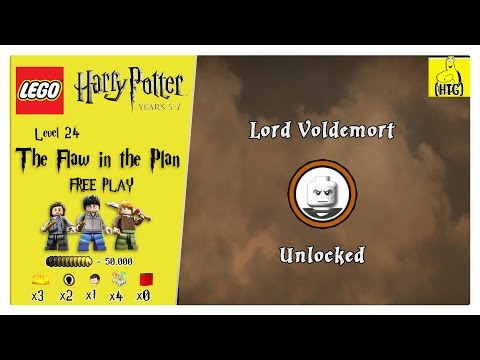 Lego Harry Potter Years 5-7: Lvl 24 / The Flaw in the Plan FREE PLAY (All Collectibles) - HTG