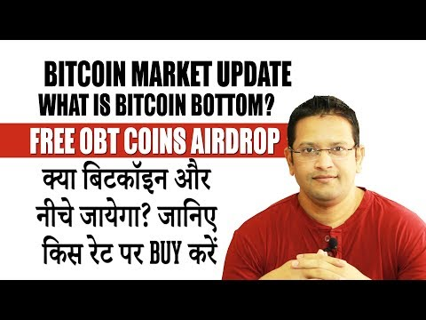 Why Bitcoin Falling? What's the exact bitcoin Bottom? Get FREE OBT COINS AIRDROP in 2 min. - HINDI