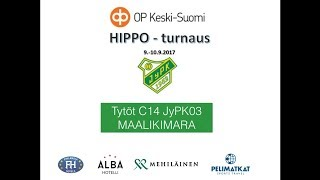 Hippo 2017 JyPK03U:n maalikimara  C14 sarjassa