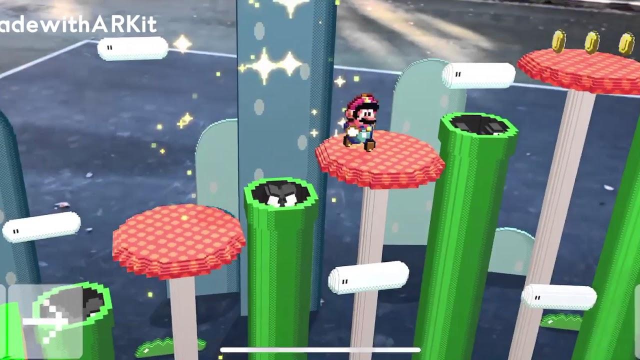Super Mario AR demo byStuart Langfield