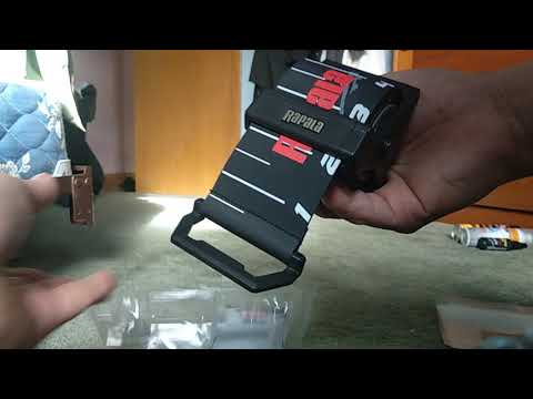 Unboxing Rapala Retractable Ruler