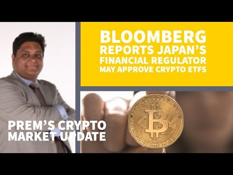 Bloomberg reports Japan's Financial Regulator May Approve Crypto ETFs