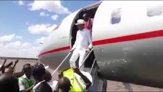 Arrivée à Lubumbashi de Moïse KATUMBI 20.05.2019