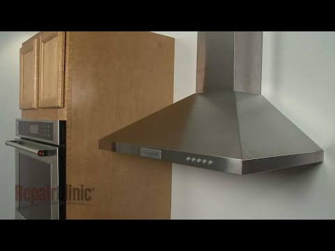 Nutone Range Vent Hood Disassembly · Kitchenaid Canopy Vent Hood  Disassembly (Model #KVWB400DSS)