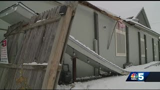 Essex roof gives out from weight of snow