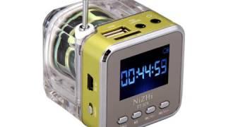 Как разобрать портативную колонку NiZHi / repair portable mp3 speaker NiZHi