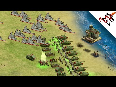 Rise Of Nations Ex Usa Vs Russia Nuclear War Youtube