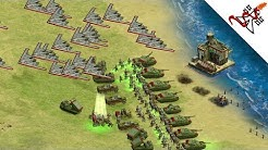 Rise of Nations EX - USA vs RUSSIA NUCLEAR WAR
