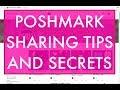 POSHMARK SHARING TIPS AND SECRETS