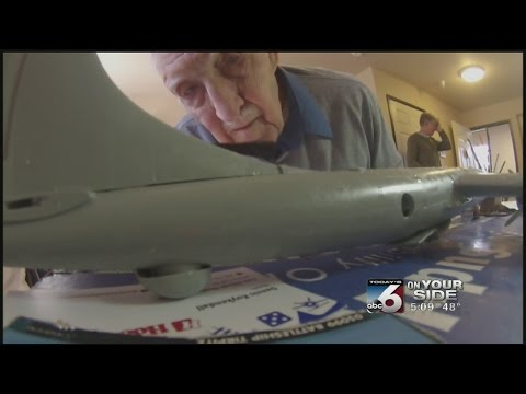 99 year-old man finds joy in building models