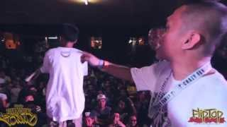 Repeat youtube video FlipTop - Frooz/Elbiz vs Yelshawn/Bogchick @ Dos Por Dos 2