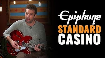 Epiphone Standard Casino Guitar | CME Gear Demo