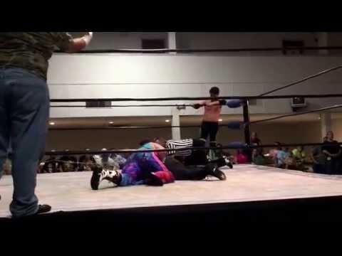 7.18.15 RapidFyre Lucas Nero and Rainbow Warrior vs Justin Stone and Cajun. APW Pensacola.