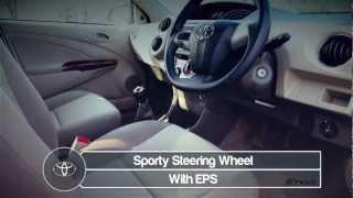 New Toyota Etios -- Features -- 2013