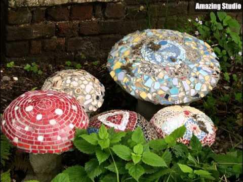 Ehrf rchtiges mosaik pilz garten ideen youtube - Garten mosaik ...