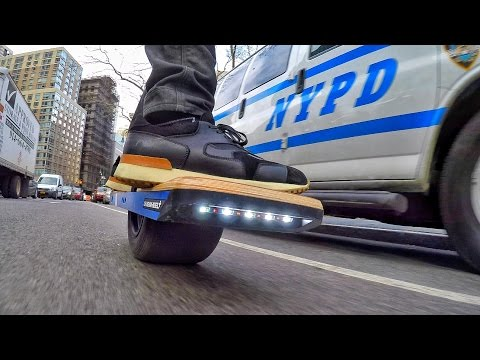 Thumbnail: Hi-Speed Hoverboard & the NYPD