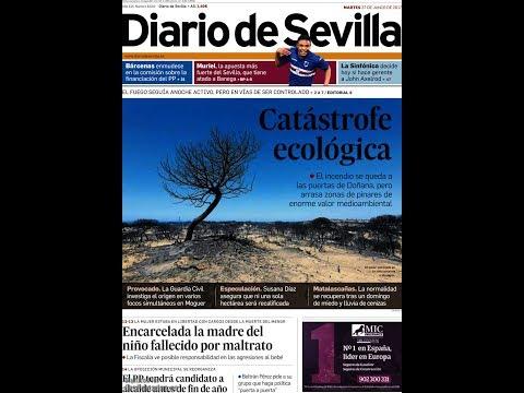#Noticias Martes 27 Junio 2017 Principales Portadas Titulares Diarios Periódicos España Spain #News